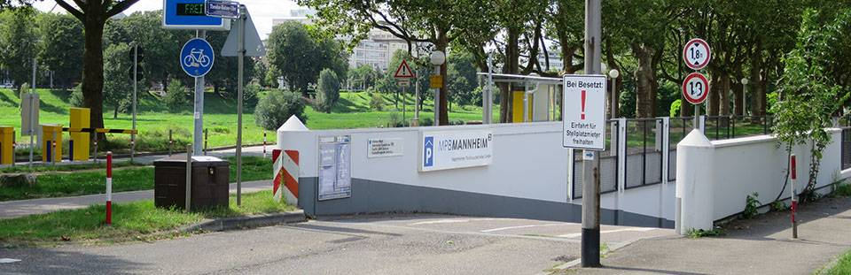 Parken in Mannheim