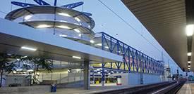 Parkhaus P2 am Bahnhof Mannheim
