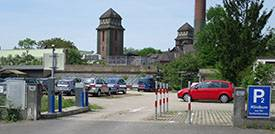 Parkplatz Klinikum