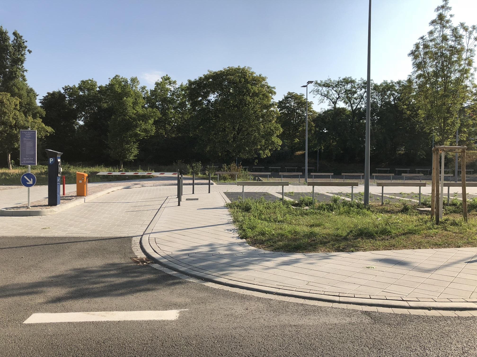 Parkplatz am Musikpark Mannheim
