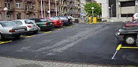Parkplatz in Mannheim