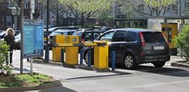 Parkplatz M4a Mannheim