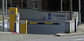 Parken in Mannheim City