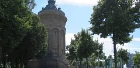 Parken am Wasserturm Mannheim